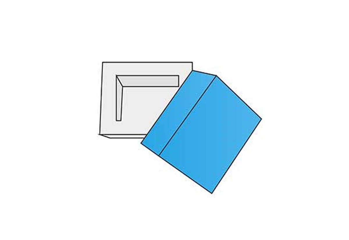 D Wall Frame Tray Lid