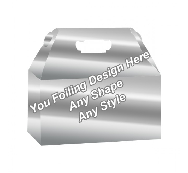 Silver Foiling - Custom Packaging Boxes