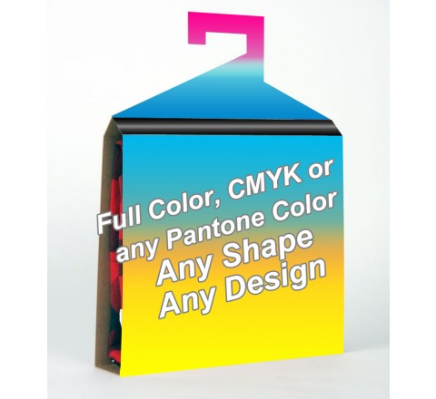 Full Color - Shirt Packaging Box