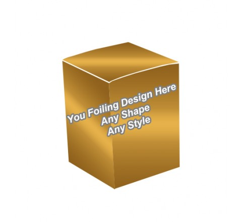 Golden Foiling - Cosmetic Boxes